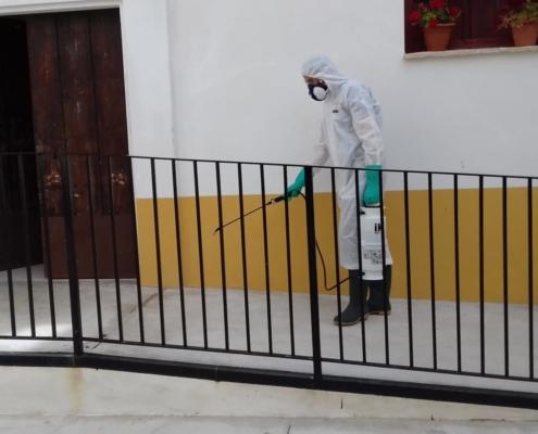 Desinfección coronavirus COVID-19 en Córdoba
